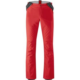 Maier Sports Joscha Slim Pants Men, rood